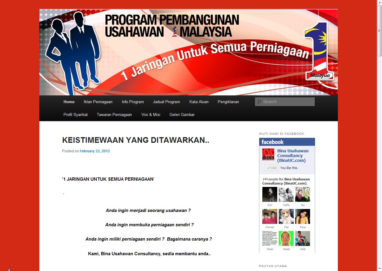 bina usahawan consultancy